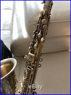 Vintage Conn Alto Saxophone With Case Sax