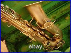 Vintage Gold Plate Buescher True Tone Alto Sax Original Excellent Condition