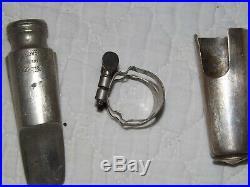 Vintage Goldbeck 8 Alto Sax/Saxophone Mouthpiece, Cap and Ligature, Plays Great