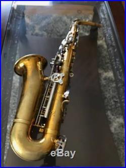 Vintage King Empire Alto Saxophone Sax