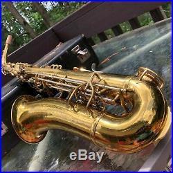 Vintage King Zephyr Alto Saxophone completely overhauled sax great player sax