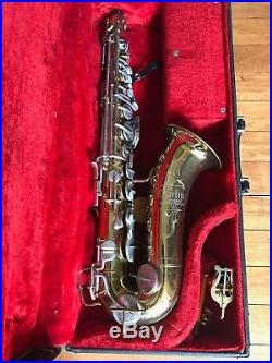 Vintage MARTIN Imperial Alto Saxophone Sax and Extras USA Made