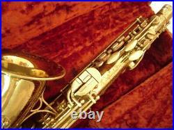 Vintage Martin Committee Music Man Model Alto Sax Original Superb Playing Horn