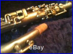 Vintage Martin Gold Plated Alto Saxophone Sax Beautiful Engraving Please Read