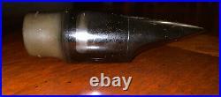 Vintage Meyer 7 M Medium Chamber Alto Saxophone Mouthpiece New York USA NY Sax