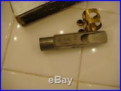 Vintage Miami Dukoff D4 Super Power Chamber Alto Sax mouthpiece