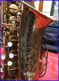 Vintage Mid 50's The Martin Alto Sax Beautiful Original Lacquer