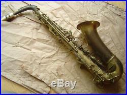 Vintage Pan American Alto Sax with Original White Mouthpiece