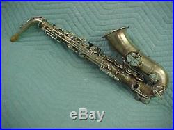 Vintage Peffer/Elkhart Stencil Alto Sax, EXCELLENT Ready to Play Condition