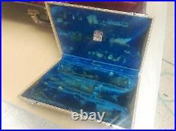 Vintage Selmer Alto Sax Tri-Pack Case