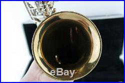 Vintage Selmer Bundy ll 2 Saxophone SAX With Hard Case 817876 Made In USA