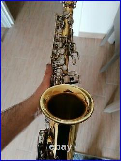 Vintage Selmer Mark VII alto saxophone, amazing velvety sound! Sax