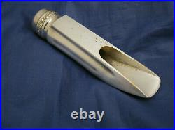 Vintage Selmer Metal Alto Sax. Mouthpiece D Lay In Excellent Condition