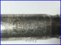 Vintage Selmer Metal Soloist Scroll Shank Classic Alto Sax Mouthpiece C