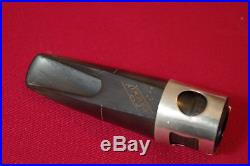 Vintage Selmer Soloist 60's C alto saxophone HR mouthpiece (long scroll shank)
