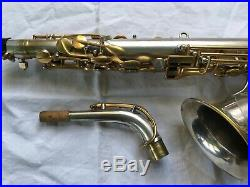 Vintage Special Selmer 1931 Super Series Alto Sax Saxophone Silver / Gold Plated