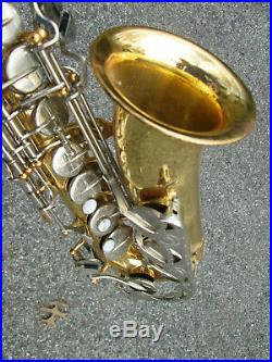Vintage Vito Yamaha YAS Alto Sax Saxophone BODY ONLY, NO NECK JAPAN! POTENTIAL