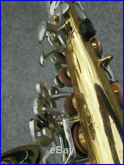 Vintage Vito Yamaha YAS Alto Sax Saxophone BODY ONLY, WithO NECK JAPAN! POTENTIAL