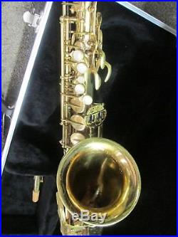 Vintage Yanagisawa A4 Alto Saxophone, New Pads, New Case, Ready-To Play Pro Sax