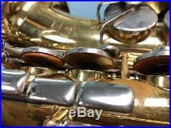 Vito Leblanc Alto Saxophone Sax Woodwind Student Instrument For Parts or Repair