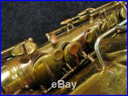 WOW! 1901 EARLY Vintage CG Conn Wonder Improved Alto Sax Serial # 4746