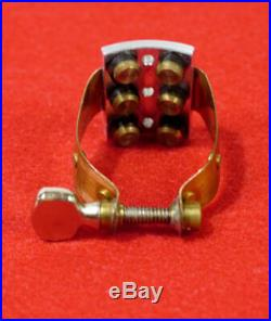 Winslow Alto Sax Ligature to fit Hard Rubber Mouthpieces, Meyer, Selmer, Nice