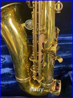 Wow! 1972 Buffet Super Dynaction Alto Saxophone Sax Must See