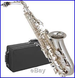 YAMAHA Alto Sax YAS-62S III Silver Plated From Japan New