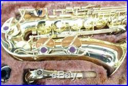 YAMAHA Alto Saxophone Sax YAS-32 With Hard Case Used Tested