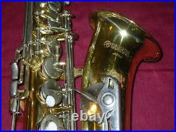 YAMAHA YAS-23 ALTO SAXOPHONE SAX VIDEO DEMO READY TO PLAY with ALL NEW PADS