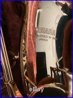 YAMAHA YAS-32 Alto Sax Playing condition Used in Japan with Hard case
