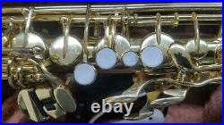 YAMAHA YAS-32 Alto Sax Saxophone Playing condition from Japan with Hard case