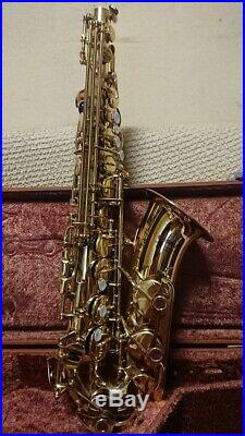 YAMAHA YAS-32 Alto Sax Saxophone Playing condition from Japan with Hard case JP