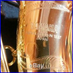 YAMAHA YAS-62 Alto Sax Saophone with Hard Care Set