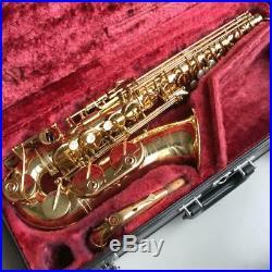 YAMAHA YAS-62 II 2 Alto Sax Saxophone Perfect Condition Overhauled Tested Used