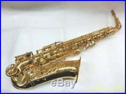 YAMAHA YAS-62 II YAS62II Alto Saxophone Sax With Strap Serviced Tested Used Ex++