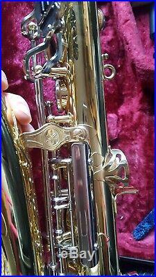 Yamaha Alto Sax YAS 23 Immaculate Serviced + book & stand a