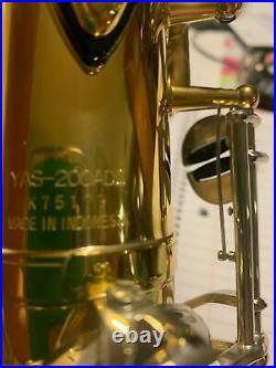 Yamaha YAS-200ADII Advantage Alto Sax in Hard Case 59319-1H