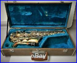 Yamaha YAS-21 Student Model Alto Sax With Hard Shell Case Ready To Play