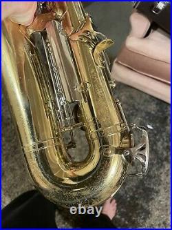 Yamaha YAS-23 Alto Sax, Hard Case, Neck, Mouth Pc & Cover Needs Adjustments
