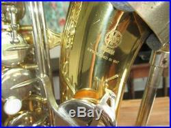 Yamaha YAS-23 Alto Saxophone With Case YAS23 Japan Sax Recent Model NICE