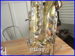 Yamaha YAS-23 Alto Saxophone With Case YAS23 SAX Parts or Repair