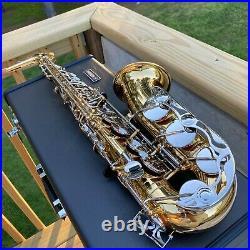 Yamaha YAS-26 Standard Eb Alto Saxophone new condition Student sax