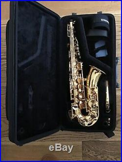 Yamaha YAS-280 Alto Sax in Mint Condition With Carry Case And Accessories