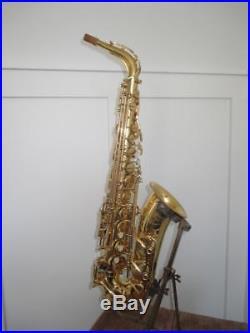Yamaha YAS-52 Intermediate Alto Saxophone With Case VERY NICE YAS52 Sax Japan
