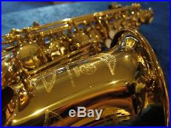 Yamaha YAS-62 Eb Alto Saxophone (Refurbished Instrument)
