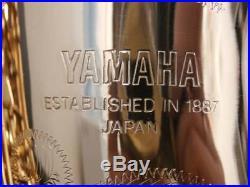 Yamaha YAS 62 II yas62 2 Alto Sax Saxophone withCase gorgeous item