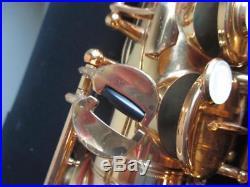 Yamaha YAS-62 Professional Alto Saxophone With Case Sax YAS62 VERY NICE