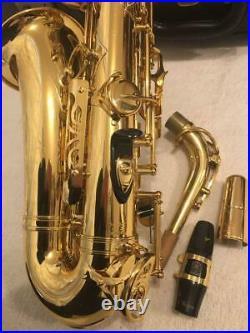 Yamaha YAS-82Z Alto Saxophone Sax with Hard Case Used from Japan