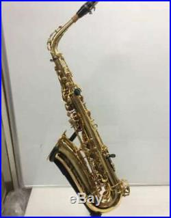 Yamaha YAS-875 Saxophone Alto Sax Gold Lacquered With SELMER S80 Mouthpiece F/S